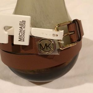 Michael Kors Women's Leather Belt